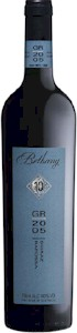 Bethany GR10 Reserve Shiraz 2005 - Buy Australian & New Zealand Wines On Line