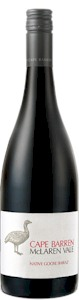 Cape Barren Native Goose Shiraz 2011 - Buy Australian & New Zealand Wines On Line