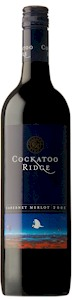 Cockatoo Ridge Cabernet Merlot - Buy Australian & New Zealand Wines On Line