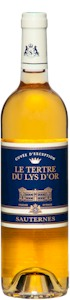 Le Tertre Du Lys Dor Sauternes 2005 - Buy Australian & New Zealand Wines On Line