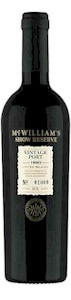 McWilliams Show Reserve Vintage Port 1982 500ml - Buy Australian & New Zealand Wines On Line