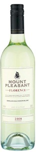 Mount Pleasant Florence 2010 - Buy Australian & New Zealand Wines On Line