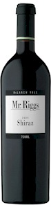 Mr Riggs Shiraz 2009 - Buy Australian & New Zealand Wines On Line