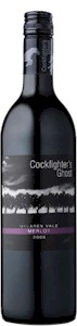 Cockfighters Ghost Merlot 2011 - Buy Australian & New Zealand Wines On Line