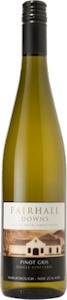 Fairhall Downs Pinot Gris 2009 - Buy Australian & New Zealand Wines On Line