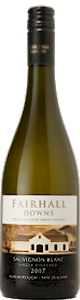 Fairhall Downs Sauvignon Blanc 2009 - Buy Australian & New Zealand Wines On Line