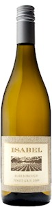 Isabel Estate Pinot Gris 2012 - Buy Australian & New Zealand Wines On Line