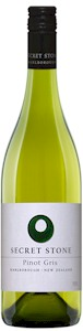 Secret Stone Pinot Gris 2012 - Buy Australian & New Zealand Wines On Line