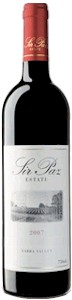 Sir Paz Blocks Estate Shiraz 2007 - Buy Australian & New Zealand Wines On Line