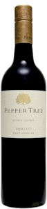 Pepper Tree Wrattonbully Merlot 2010 - Buy Australian & New Zealand Wines On Line