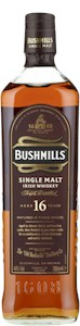 Bushmills 16 Year Irish Single Malt Whiskey 700ml - Buy