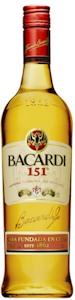 Bacardi 151 700ml - Buy Australian & New Zealand Wines On Line