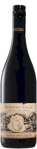 Spring Vale Estate Pinot Noir 2009 - Buy Australian & New Zealand Wines On Line