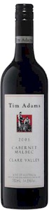 Tim Adams Cabernet Sauvignon Malbec 2008 - Buy Australian & New Zealand Wines On Line
