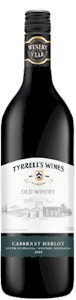 Tyrrells Old Winery Cabernet Merlot 2011 - Buy Australian & New Zealand Wines On Line