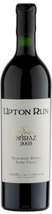 Upton Run Reserve Shiraz 2005 - Buy Australian & New Zealand Wines On Line