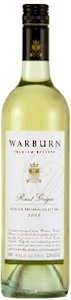 Warburn Premium Reserve Pinot Grigio - Buy Australian & New Zealand Wines On Line