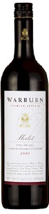 Warburn Premium Reserve Merlot - Buy Australian & New Zealand Wines On Line