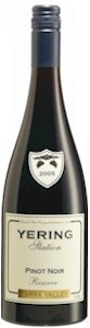 Yering Station Reserve Pinot Noir 2000 - Buy Australian & New Zealand Wines On Line
